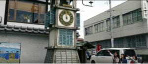 御成坂公園(からくり時計)